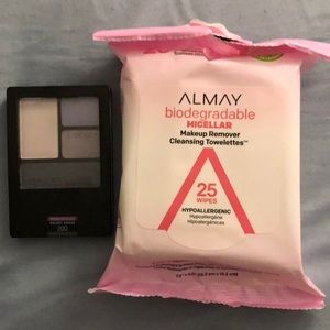 ALMAY EYE SHADOW VELVET CRUSH and MAKEUP REMOVER